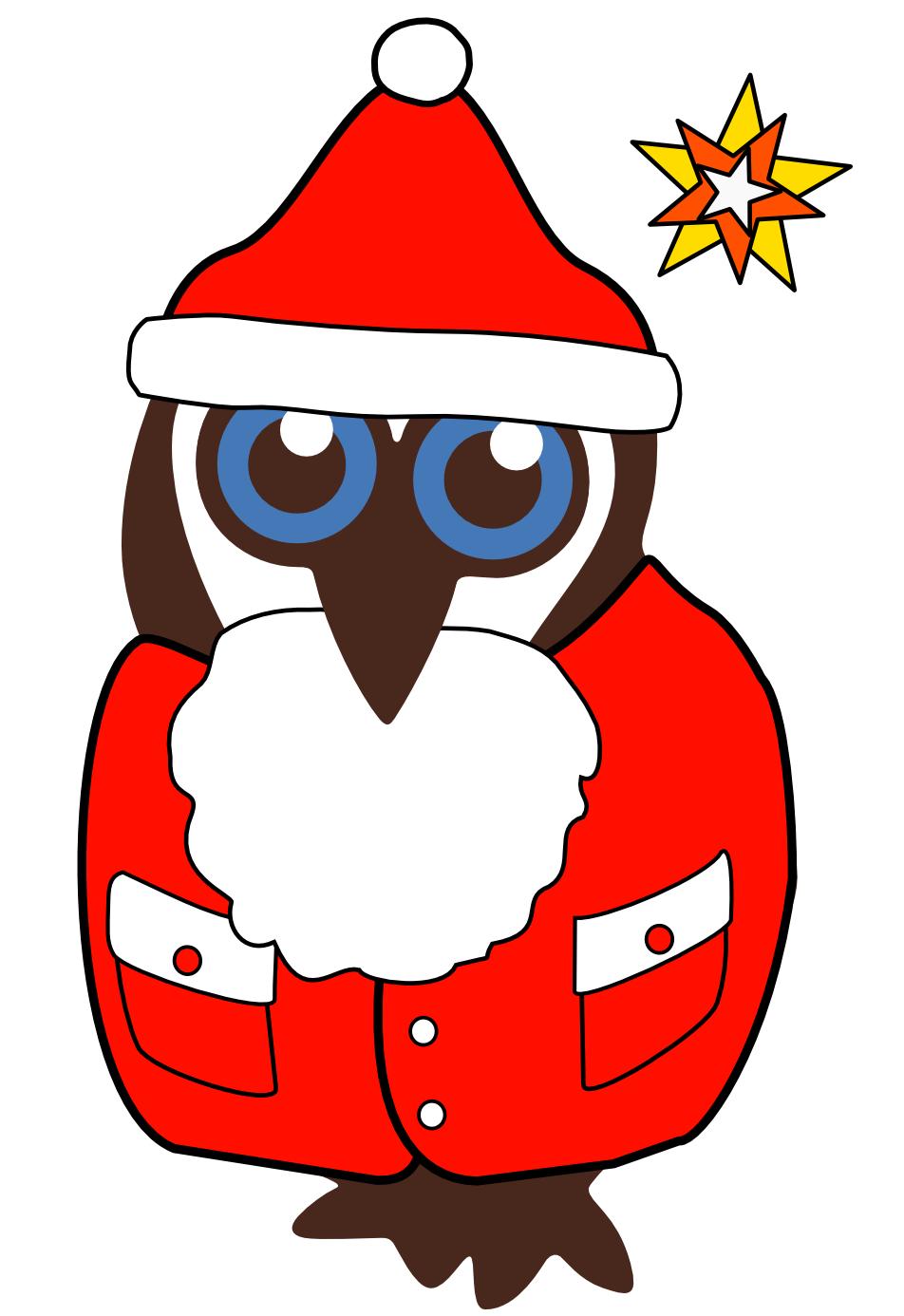 Hibou_Weihnachtsmann